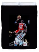 The Dunk Duvet Cover by Don Medina