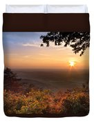 The Evening Star Duvet Cover by Debra and Dave Vanderlaan