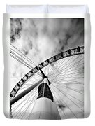 The Eye Duvet Cover by Jorge Maia