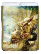 The Fall Of Phaethon Duvet Cover by Gustave Moreau