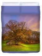 The Farm Duvet Cover by Debra and Dave Vanderlaan