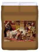 The Favorite Of The Harem Duvet Cover by Gyula Tornai