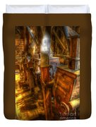 The Finishing Bins Duvet Cover by Dan Stone