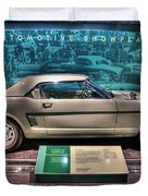 The First Mustang  Duvet Cover by Nicholas  Grunas