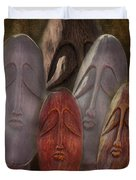 The Following Duvet Cover by Terry Fleckney