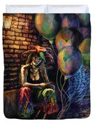 The Fool Dreamer Duvet Cover by Kd Neeley