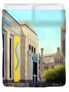 The Frist Center Duvet Cover by Janet King