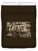The General Store Duvet Cover by Priscilla Burgers