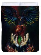 The Gift Duvet Cover by Kd Neeley