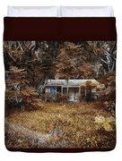 The Girl Left Behind Duvet Cover by Skip Nall