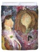 the Girls Duvet Cover by Sherry Harradence
