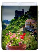 The Godfather Villages Of Sicily Duvet Cover by David Smith