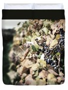 The Grapevines Duvet Cover by Lisa Russo