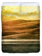 The Great Sand Dunes Duvet Cover by Brett Pfister