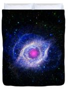 The Helix Nebula  Duvet Cover by The  Vault - Jennifer Rondinelli Reilly