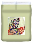 The Holy Family Duvet Cover by Gloria Ssali