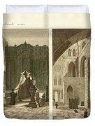 The holy sepulcher of Jerusalem Duvet Cover by Splendid Art Prints