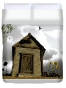 The House Of Light And Shadow Duvet Cover by Cynthia Decker