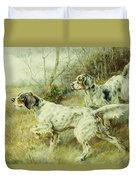 The Hunt Duvet Cover by Edmund Henry Osthaus