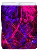 The Jester 20130510v2 vertical Duvet Cover by Wingsdomain Art and Photography