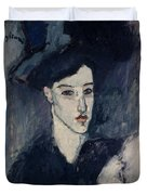 The Jewess Duvet Cover by Amedeo Modigliani