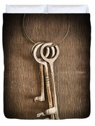 The Keys Duvet Cover by Edward Fielding