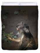 The Koala Duvet Cover by Ernie Echols