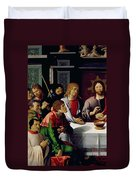 The Last Supper Duvet Cover by French School