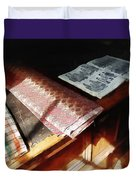 The Latest Fashion Duvet Cover by Susan Savad