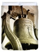 The Liberty Bell Duvet Cover by Bill Cannon
