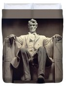 The Lincoln Memorial Duvet Cover by Daniel Chester French