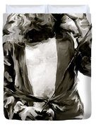The Lion  Robert Plant Duvet Cover by Iconic Images Art Gallery David Pucciarelli