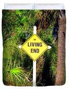 The Living End Duvet Cover by Carla Parris