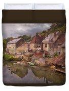 The Loir River Duvet Cover by Debra and Dave Vanderlaan