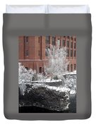 The Lone Sentinel - Spokane Washington Duvet Cover by Daniel Hagerman
