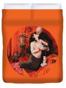 The Lovers Duvet Cover by Shelley Irish