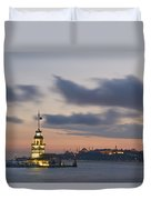 The Maiden's Tower  Duvet Cover by Ayhan Altun