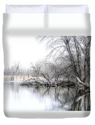 The Marsh Duvet Cover by Julie Palencia