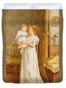 The Master Of The House Duvet Cover by George Goodwin Kilburne