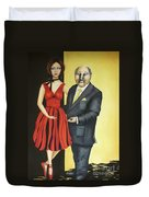 The Mentor Duvet Cover by Kaye Miller-Dewing