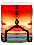 The Merger Duvet Cover by M and L Creations