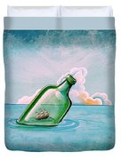 The Messenger Duvet Cover by Cindy Thornton