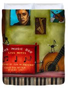 The Music Box Edit 3 Duvet Cover by Leah Saulnier The Painting Maniac