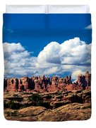 The Needles Duvet Cover by Robert Bales