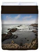 The Ocean's Call Duvet Cover by Laurie Search
