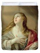 The Penitent Magdalene Duvet Cover by Guido Reni