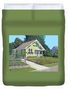 The Pickles House Duvet Cover by Gary Giacomelli