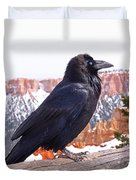 The Raven Duvet Cover by Rona Black