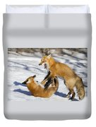 The Rivals Duvet Cover by Mircea Costina Photography