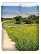 The Road Home Duvet Cover by Lynn Bauer